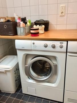 Rensa tvättmaskinen miljövänligt.