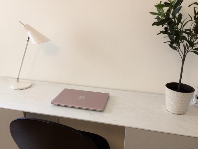Arbetsplats med dator